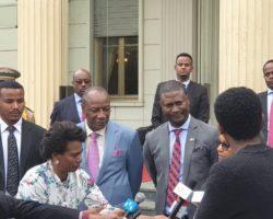 LE DG DE L'APIP MR NAMORY CAMARA EN ÉTHIOPIE POUR UNE VISITE DE TRAVAIL