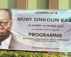 Hommage à feu Mory Sinkoun KABA : un symposium organisé par Isto Keira, pour immortaliser les œuvres du défunt