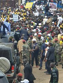 La grandiose réception du chef de l'Etat : ces cadres de la Mouvance qui ont mouillé le maillot pour gagner le pari de la mobilisation