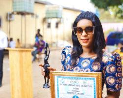 Distinction: Maïmouna Barry, lauréate du Prix ''Femme citoyenne de Guinée''